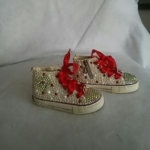 Other - New bling out girl sneakers